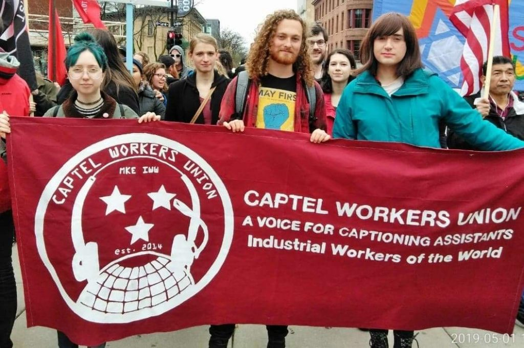 CapTel Workers Union on May Day 2019